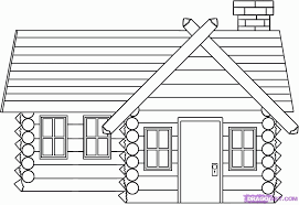 logging coloring pages christmas log cabin coloring pages log cabin coloring page many