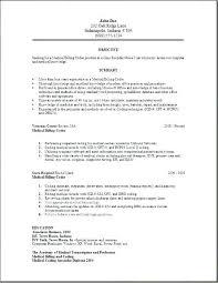 Resume Objective For Medical Billing Best Of Medical Billing Resumes Samples Andaleco