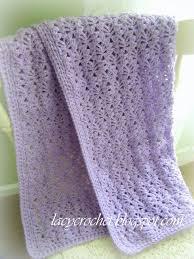 Lacy Baby Blanket Crochet Pattern