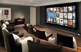 Basement Home Theater Design Ideas For Your Modern Best Decor Bar