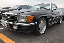 While it may look like it, this 560sl has never been restored. 1987 Mercedes Benz 560sl Auto Access Japan