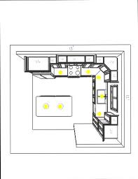 Kitchen Recessed Lighting Layout Design Inspirations