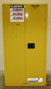Yellow Flammable Cabinet Flammable Liquid Storage Cabinet Used Roselawnlutheran