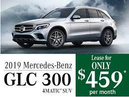 Mercedes me is the ultimate resource, putting control of your vehicle in the palm of your hand. New Mercedes Benz Glc 300 Offers