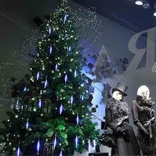 Falling Christmas Tree Lights Us 11 8 28 Off New 50cm Meteor Shower Rain Tubes String Light Led Falling Lamp Christmas Tree Lights Wedding Decorative Light Garden Lamp In Led