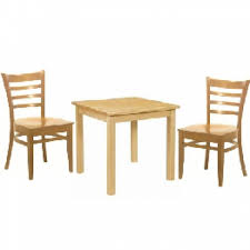 prima solid wood dining table dallas chairs set
