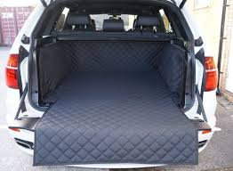 quilted waterproof boot liner to fit bmw x5 2007 2016 5 seater vehicles