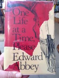 rare collection of fine edward abbey books up for now one life at a time please 1st edition vg essays