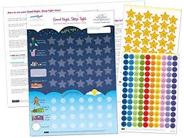 Good Sleep Chart Good Night Sleep Tight Reward Chart For 3 Yrs Award Winning Create The Perfect Bedtime Routine For Your Child And Help Them Sleep At Night 17 X