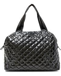 Incredible Spring Deals on Steve Madden Quilted Weekender Bag ... & Steve Madden Quilted Weekender Bag - Metallic Black - Steve Madden Adamdwight.com