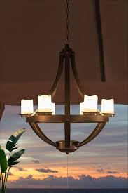 top battery operated chandelier