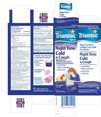 Dimetapp Cold And Allergy Dosage Chart By Weight Triaminic Childrens Night Time Cold And Cough Syrup
