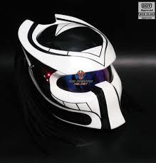 custom handmade predator motorcycle black and white pro predator