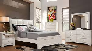 High Quality Belcourt White 5 Pc King Upholstered Bedroom