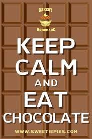 How To Make A Keep Calm Poster Keep Calm And Eat Chocolate Poster Template Postermywall