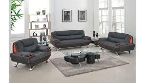 eva modern genuine leather sofa