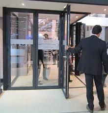 entry door sliding folding aluminum kanada fd