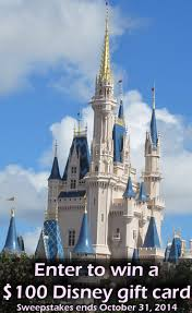 are you a disney world fan enter to win a 100 disney gift card