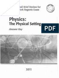 On this page you can read or download the physical setting answer key topic 3 earth science in pdf format. Physics The Physical Setting Answer Key