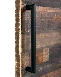 rustic barn door handle sliding doors hardware more pulls handles for