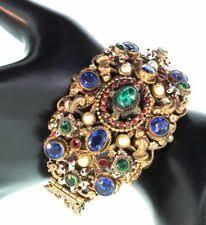 art nouveau art deco costume jewelry