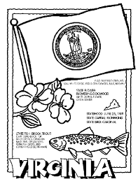 Small Picture Virginia coloring page Crayola has state pages country flags