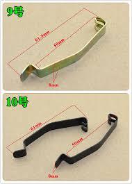 harbll 2pcs auto fixed spring clamp hook tension spring air filter filter & fuse box at Filter Fuse Box