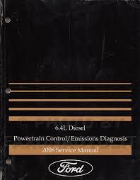 ford f thru super duty wiring diagram manual original 2008 ford super duty 6 4l diesel engine emissions diagnosis manual