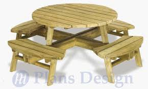 round patio table plans free