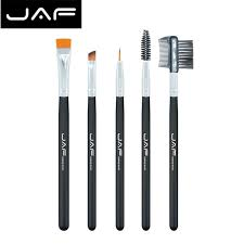 eyebrow brushes kit. jaf 5pcs syntheticl hair eye brushes makeup-up base brush eyelash eyeliner set professional eyebrow kit aliexpress.com