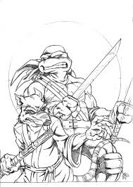 Teenage Mutant Ninja Turtles Printable Coloring Pages | Printable ...