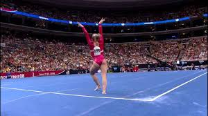 Image Visa Championships Youtube Shawn Johnson Floor Exercise 2008 Olympic Trials Day Youtube