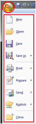 Word For Office Microsoft Office Button Javatpoint