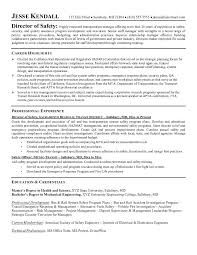 Best Solutions of Safety Resume Sample With Additional Proposal