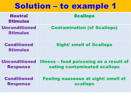 Example Of Classical Conditioning Classical Conditioning Vce U4 Psych