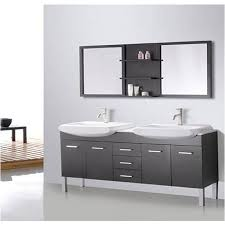 72 inch double sink vanity. bathroom vanity mirrors double sink design element tustin 72 inch and mirror v