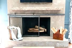 modern fireplace doors metrovethosp com pertaining to designs 7