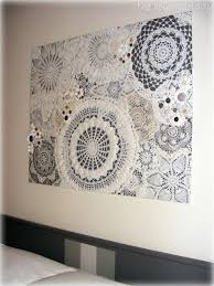 >diy doily craft ideas my style pinterest doilies crafts walls  with these diy doily craft ideas that i found are a great way to inspire you to create something with all those doily you have sitting in a box