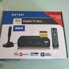RCA Digital TV Box, TV & Home Appliances, TV & Entertainment, Media  Streamers & Hubs on Carousell
