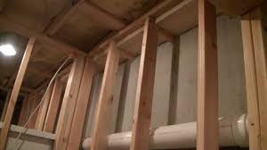 Fire Blocking In Basements YouTube - Finish basement walls without drywall