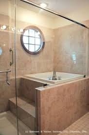 master bathroom shower and tub. japanese style shower and soaking tub. master bathroom tub o