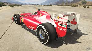 The comet is a very fast car, and can be hard to control at high speed. Ferrari F1 For Gta 5