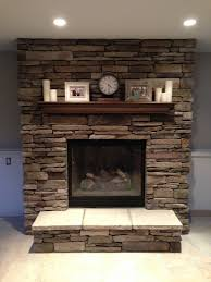 our new brick fireplace decorated fireplace mantel brick inside fireplace redo design ideas