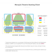 Marquis Theatre Seating Chart Marquee Theatre Seating Chart Related Keywords Suggestions