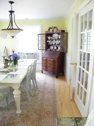 elegant secretary desks in dining room traditional with ethan allen sofa ideas next to corner hutch alongside china cabinet display and secretary desk