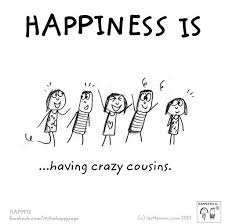 Cousin Love Quotes Stunning Happiness Is Having Crazy Cousins Quotes Home Family