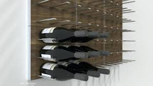 wall mounted metal wine rack. Metal Wine Racks Wall Mounted Modular Rack System Commercial Grade . T