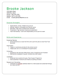 Cv Example Student Nz Good Cv Template Design Example Jobsxs Com