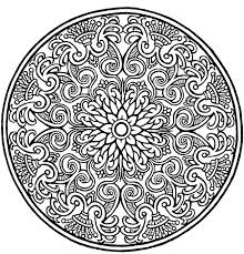Small Picture Coloring Pages Mandala Designs line drawings online Coloring Pages