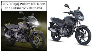 It is good to mention another bajaj product named bajaj pulsar 150 which is the. 2020 Bajaj Pulsar 125 And Pulsar 150 Neon Bs6 Price Hiked Gets New Graphics